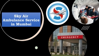 Select Air Ambulance Service in Mumbai with Trusted Medical Team