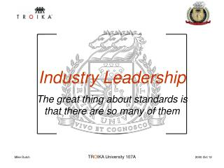 Industry Leadership