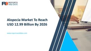 Alopecia Market Size & Share To 2020