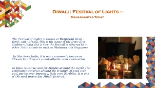 Diwali Festival of Lights - Maharashtra Today