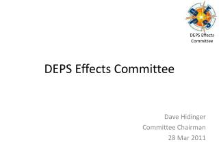 DEPS Effects Committee