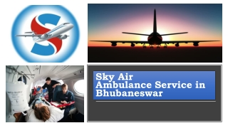 Obtain Air Ambulance Service in Bhubaneswar with Superb Medical Care