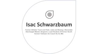 Isac Schwarzbaum - Former Athlete From Jupiter, Florida