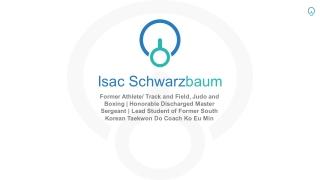Isac Schwarzbaum - Honorable Discharged Master Sergeant