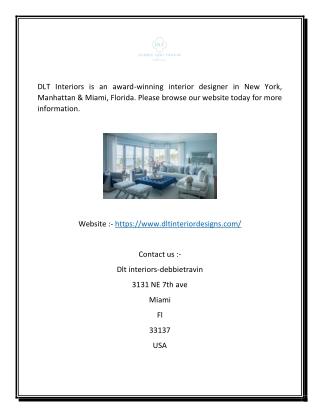 DLT Interiors | DLT Interiors