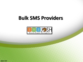 Bulk SMS Provider In Hyderabad, Bulk SMS company In Hyderabad – SMSjosh