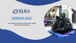Wholesale Garbage Bags
