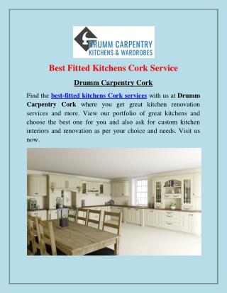 Fitted Kitchens Cork | Drumm Carpentry Cork