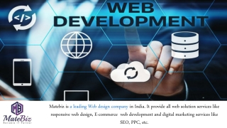 Find Best Services of Web Development Company in India