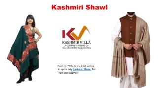 Kashmiri Shawl