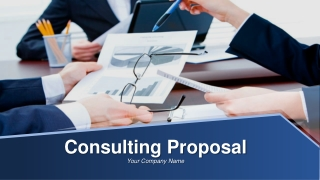 Consulting Proposal PowerPoint Presentation Slides