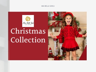 Baby Girl Holiday Outfits | Christmas Outfits Idea