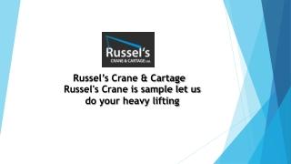 Heavy Lift Rigging  | Boom Truck Rental Cost | Vancouver Crane Rentals