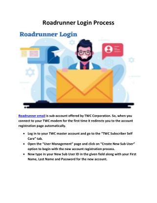 Roadrunner Login Process