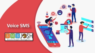 Voice SMS in Hyderabad, Voice SMS Service Company in Hyderabad – SMSjosh