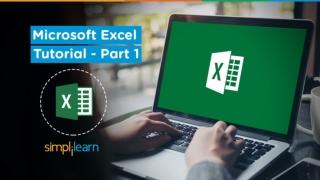 Microsoft Excel Tutorial For Beginners-1   Excel Formulas & Functions   Excel Training   Simplilearn