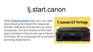 ij.start canon canon