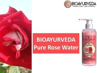 BIOAYURVEDA Pure Rose Water