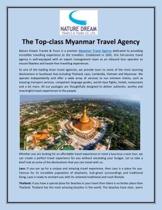 Myanmar Travel Agency