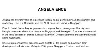 Angela Ence