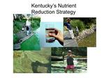 Kentucky s Nutrient Reduction Strategy