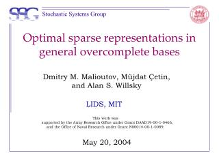 Optimal sparse representations in general overcomplete bases