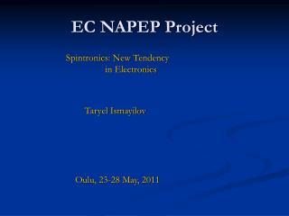 EC NAPEP Project