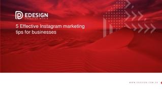Avail Instagram Marketing Service