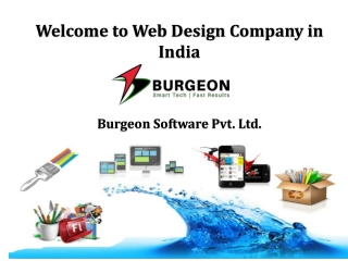 Different types of website design services in India