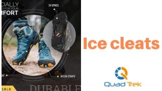 Ice cleats