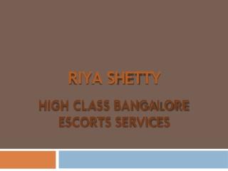 Bangalore Girls - Riya Shetty