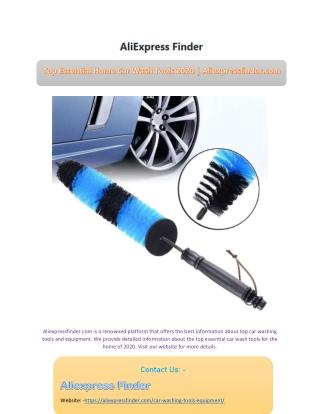 Top Essential Home Car Wash Tools 2020 | Aliexpressfinder.com