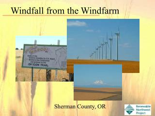 Windfall from the Windfarm