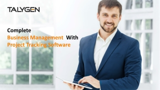 Complete Business Management  With Project Tracking Software