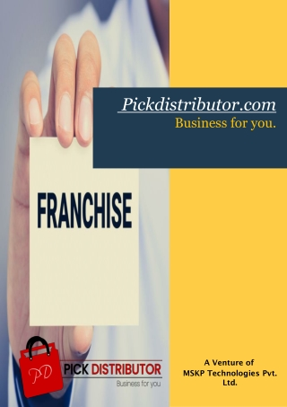 Distributorship Opportunity | Best Distributor