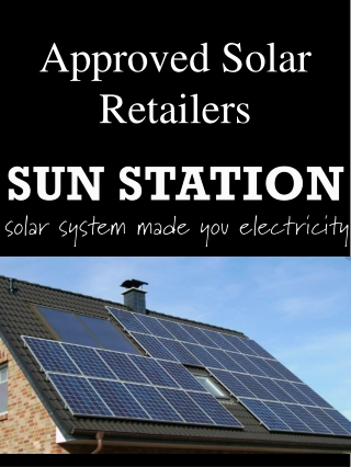 Approved Solar Retailers