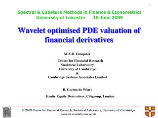 Wavelet optimised PDE  valuation of   financial derivatives