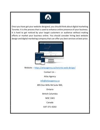 Website design company vancouver | Atlasagency.ca
