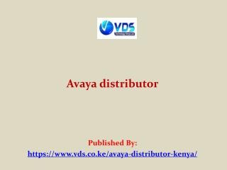 Avaya distributor