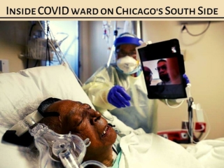 Inside COVID ward on Chicago's South Side