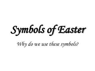 Symbols of Easter