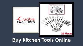 Buy Kitchen Utensils set online for your kitchen tool