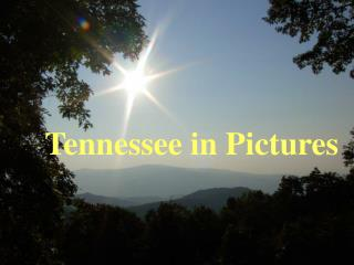 Tennessee in Pictures
