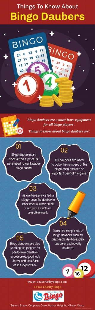Things To Know About Bingo Daubers