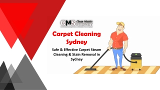 Carpet Cleaning Sydney | Safe & Effective Carpet Steam Cleaning & Stain Removal Services