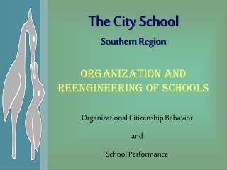 Organization and Reengineering of Schools