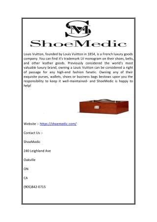 Bag repair toronto -  ( Shoemedic.com )