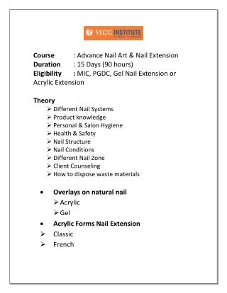 Nail Academy Nail institute Nail School  Nail Workshop Nail Course