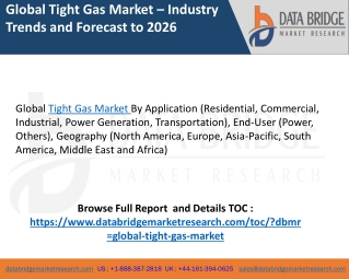 Tight gas market