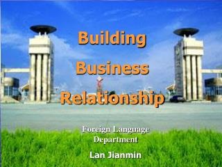 Building Business Relationship